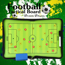 Folding Magnetic Coaching Training Board Tactical Soccer Football With Marker Us