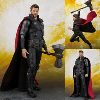 S.H.Figuarts Avengers Infinity War Thor SHF Action Figures KO Version Toy