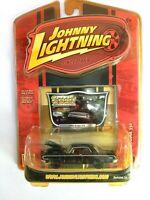 Johnny Lightning 1/64 Classic Gold 64 Dodge 330 Black #R34 Die Cast