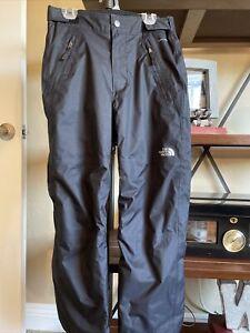 NWOT the north face boys snow pants size M 10/12 black