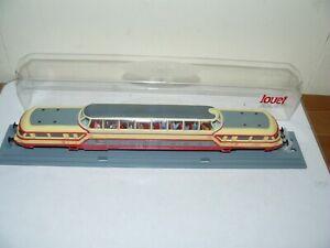 train électrique ho Jouef autorail panoramique en Boite cristal