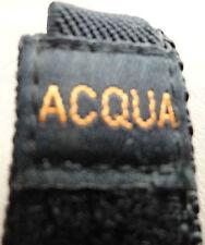 New 12-16mm Nylon Sport Timex Black Fast Wrap Acqua Adjustable Watch Band