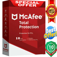 McAfee Total Protection 2020 Antivirus 🔥 1 Device 💻10 Years🔰   instant Dεlive