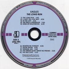 EAGLES LONG RUN ASYLUM 508-2 WEST GERMANY BLUE LABEL TARGET CD AUDIOPHILE