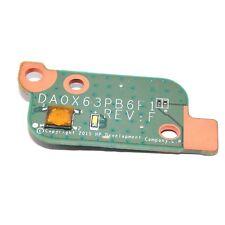 OEM POWER BUTTON SWITCH BOARD HP PROBOOK 470 G3 Laptop DA0X63PB6F1 827035-001