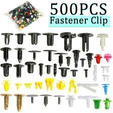 500Pcs Mixed Auto Car Fastener Clip Bumper Fender Trim Plastic Rivet Door Panel