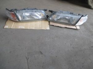JDM 96 Nissan Pulsar FN15 N15 Halogen Headlights Lamps Lights Set OEM