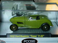 M2 MACHINES 1932 32 FORD ROADSTER FOOSE P-32 COLLECTIBLE MUSCLE CAR Dark Green
