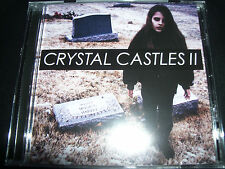 Crystal Castles II (Feat Robert Smith The Cure) (Australia) CD - New