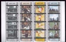 Cinema of the Century Braveheart, The General ext Sheet of 16 #1338 - Samoa E17