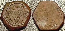 Charles VII - poids monétaire pour l'écu d'or à la couronne G sous le lis gauche