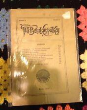 May 1915 Phi Beta Kappa Key Quarterly Booklet