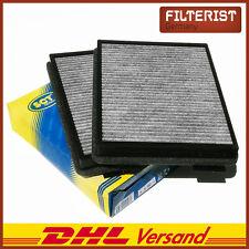 Innenraumfilter (2er) Pollenfilter Aktivkohle SCT SAK105 Für BMW E39 5er