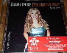 Britney Spears You Drive Me Crazy Remix Promo CD Single Rare Baby One More Time