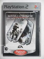 COMPLET jeu MEDAL OF HONOR LES FAUCONS DE GUERRE playstation 2 PS2 tir fps TBE