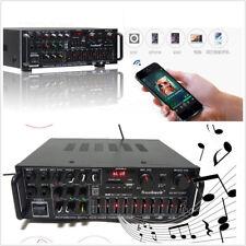 12/220V Car Bluetooth 2.0 Channel 1200W Audio Power HiFi Amplifier Speaker 326BT