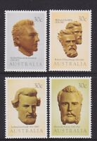 Australia 1983 : Explorers of Australia - Set of 4 x 30c Decimal Stamps, MNH