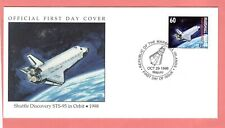 Marshall Islands; 1998 Shuttle Discovery STS-95 in Orbit Space FDC