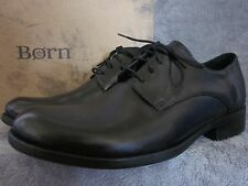 BORN Owen H21903 Mens Black Full Grain Leather Oxfords Shoes US 9.5 EUR 43 NWB