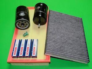 Ölfilter Luftfilter Kraftstofffilter Zündkerzen Pollenfilter Audi A3 1.8T 97-03