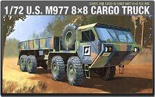 Academy 1/72 Plastic Model Kit M977 US Army 8×8 Cargo Truck 13412 NIB Military