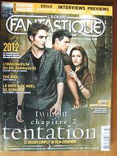 MAGAZINE L'ECRAN FANTASTIQUE N°303 TWILIGHT CHAPITRE2 2012 - 2009 SOMMAIRE