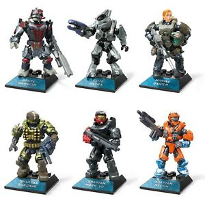 Mega Construx Halo Infinite Heroes Micro Action Figures (Pick from 6 characters)