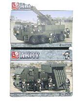 Army Tank M38-B0303, Bo302 By Sluban Building Blocks 2 Sets