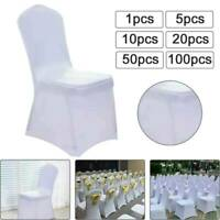 1-100PCS Spandex Dining Room Chair Covers Slip SEAT Cover Stretch Removable