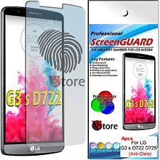 4 Pellicola Opaca Per LG G3 S Mini D722 D725 G3S  Antiriflesso Antimpronta