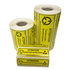 More details for shl brand anti static esd synthetic thermal printed labels