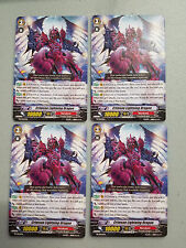 Cardfight!! Vanguard Crimson Lightning Dragon PR/0044EN x4