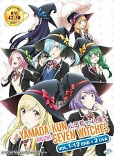 DVD Yamada-kun and the Seven Witches TV1-12+2 OVA / Yamada-kun to 7-nin no Majo