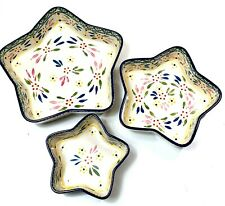 Temp-tations Old World Star-Shaped Nested Cake Pans CONFETTI NEW