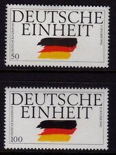 Alemania 1990 la reunificación de Alemania SG 2326-2327 estampillada sin montar o nunca montada