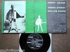 """REBBY SHARPE – Green Street  7"""" Single  Zensor 03"""