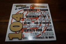 HELLOWEEN - SODOM - SISTER SIN - HELMET - ENGEL - DAATH - CD compil !!!