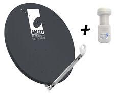 antenna parabolica grigio antracite - Diametro 80 cm + lnb 1 uscita