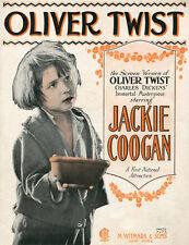 OLIVER TWIST (1922) DVD w/Lon Chaney & Jackie Coogan, dir. Frank Lloyd **RARE!**