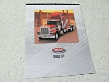 1998 PETERBILT 379 TRUCKS (USA) SALES BROCHURE..