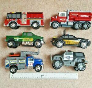 6 cars TONKA set - sounds & lights