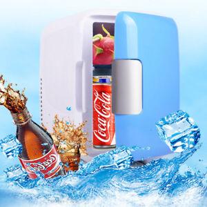 Portable 4L Mini Refrigerator Fridge Cooler Freezer and Warmer for Car 12V New