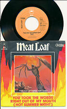 "MEAT LOAF 45 TOURS 7"" HOLLANDE TWO OUT OF THREE AIN'T BAD"