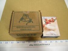2002 Longaberger Collectors Club Miniature 8x8 Baking Dish Pedestal Stand & Dish