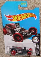 2017 Hot Wheels Fangula Treasure Hunt Black Red Fright Cars Moc Hw Toy