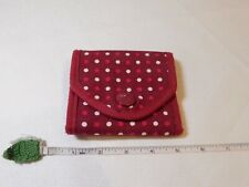 American Eagle Outfitters wallet ID credit card holder billfold change poka dots