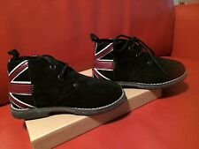 REPLAY AND SONS EDMOND UNION JACK SHORT Boots / High tops EUR29  NIB