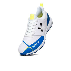 Payntr Boys V Pimple Cricket Shoes White Sports Breathable Lightweight