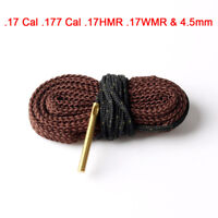 Bore Snake Cleaner Kit .17Cal .177 Cal .17HMR .17WMR&4.5mm Barrel Bronze
