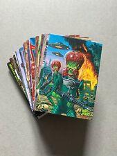 Mars Attacks Occupation - 81 CARD BASE SET